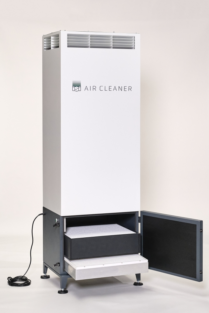 ISI AIR CLEANER FT 1 offen
